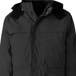 Men's polyester lined winter coat size L